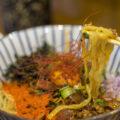 麺喰屋澤徳島店のまぜそば、純鶏そば