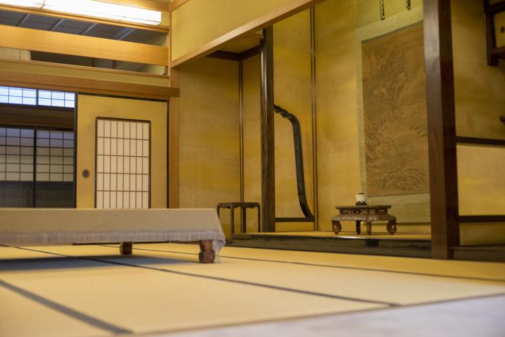 淡翁荘の和室