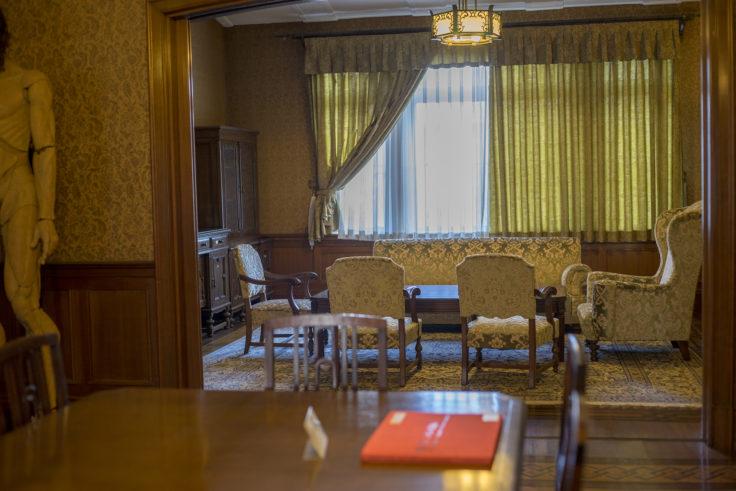 淡翁荘2階迎賓室