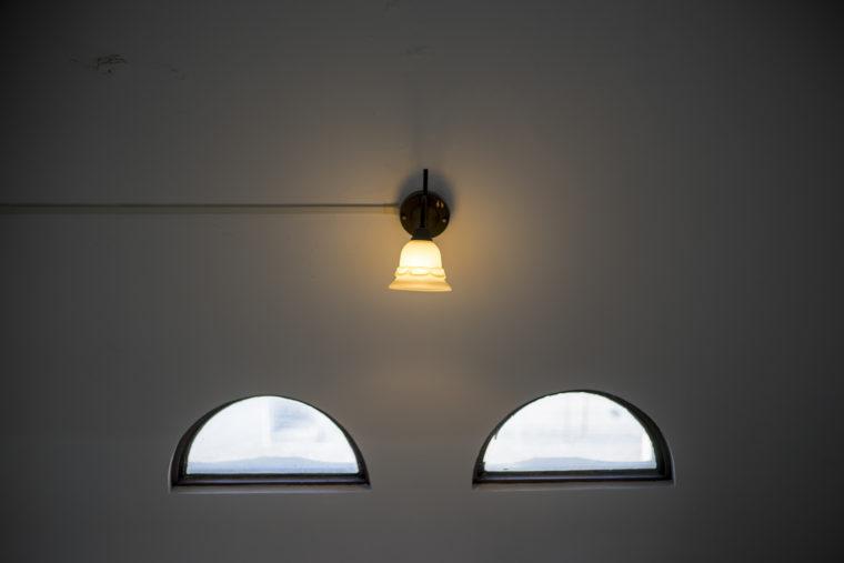 鎌田共済会郷土博物のライト