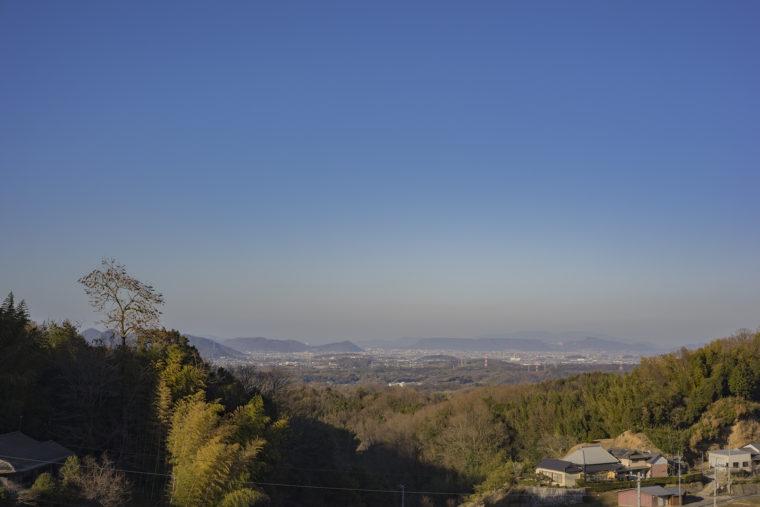 綾川町から見た屋島