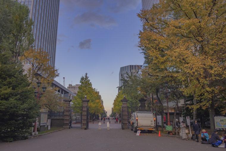 赤れんが庁舎 (北海道庁旧本庁舎)の正門