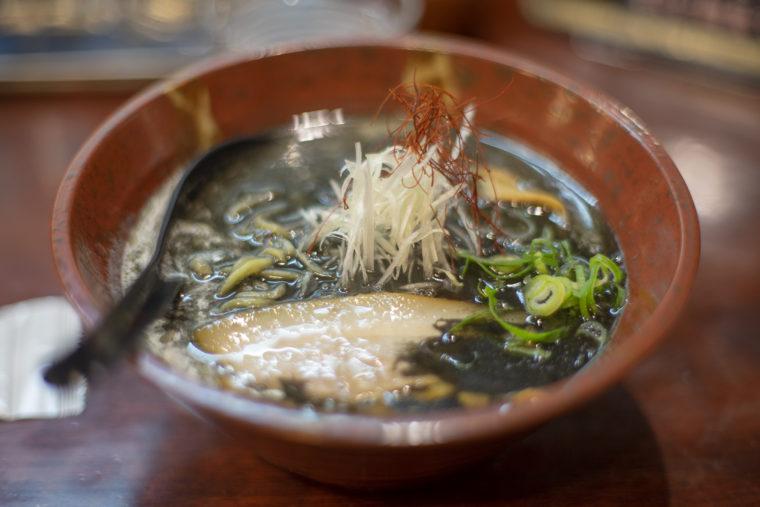 麺処希信の黒味噌ラーメン