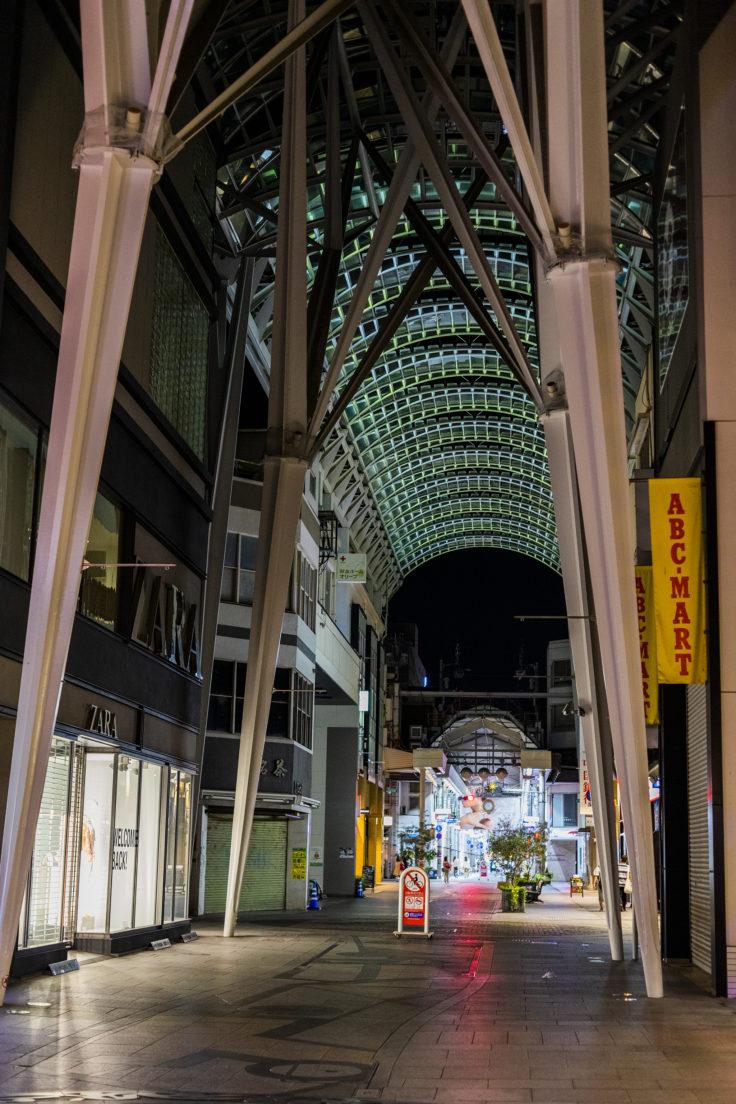 高松商店街アーケードスナップ写真