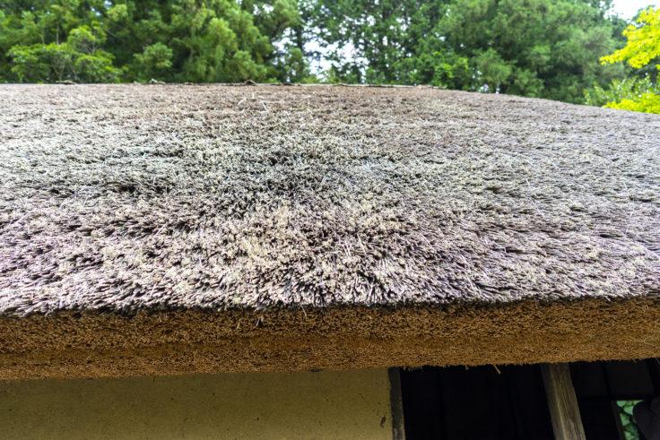 細川家住宅の屋根
