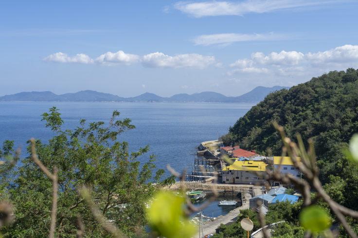 伊吹島の風景