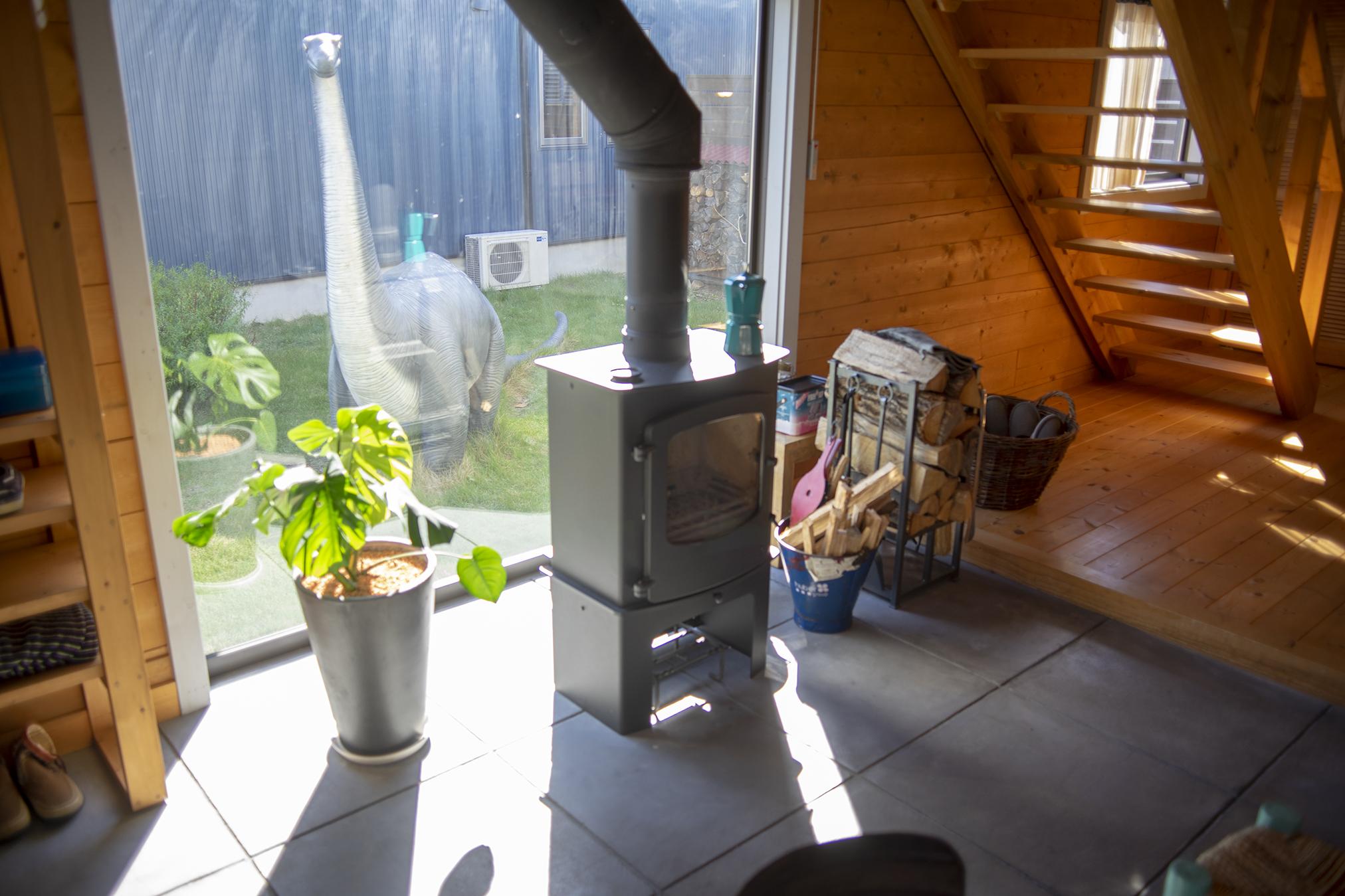 BESSのLOGWAYで暖炉のある暮らしとログハウスを手に入れたくなった