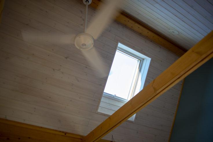 BESS G-LOG空調と天窓
