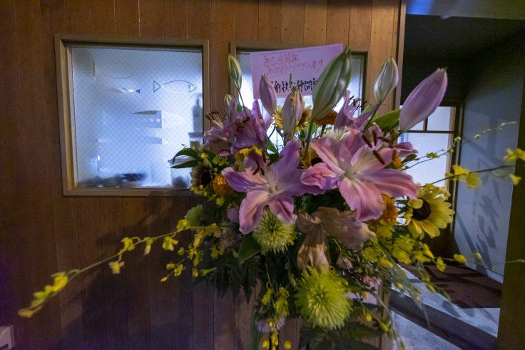 超広角レンズで撮る花