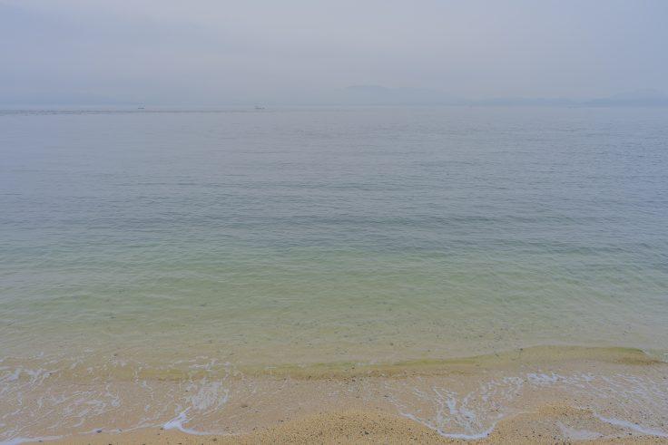 竹居観音岬から見た瀬戸内海