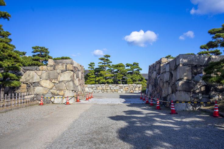 玉藻公園桜御門跡