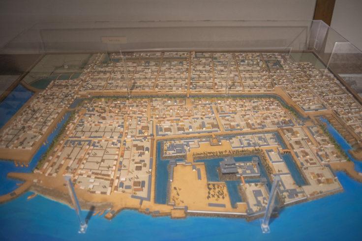 玉藻公園陳列館高松城城下町模型