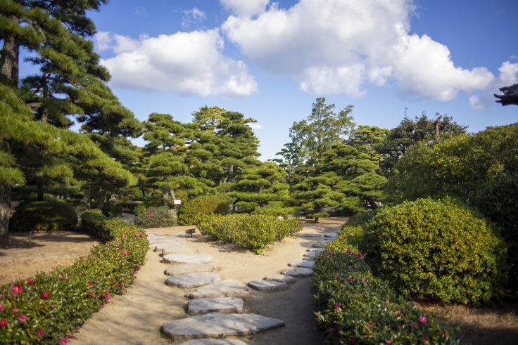 披雲閣庭園2