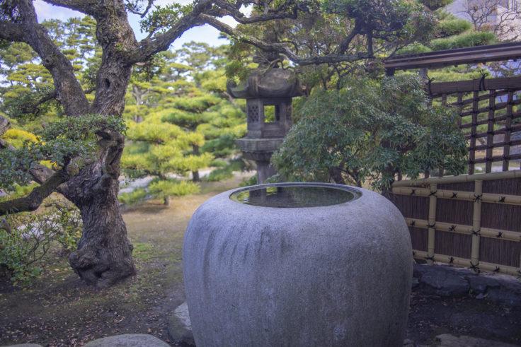 披雲閣庭園5