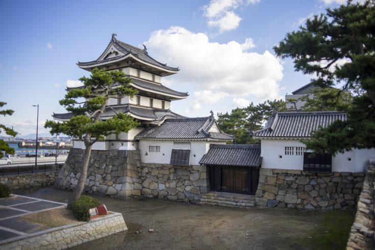 月見櫓(つきみやぐら)・水手御門(みずてごもん)反対側