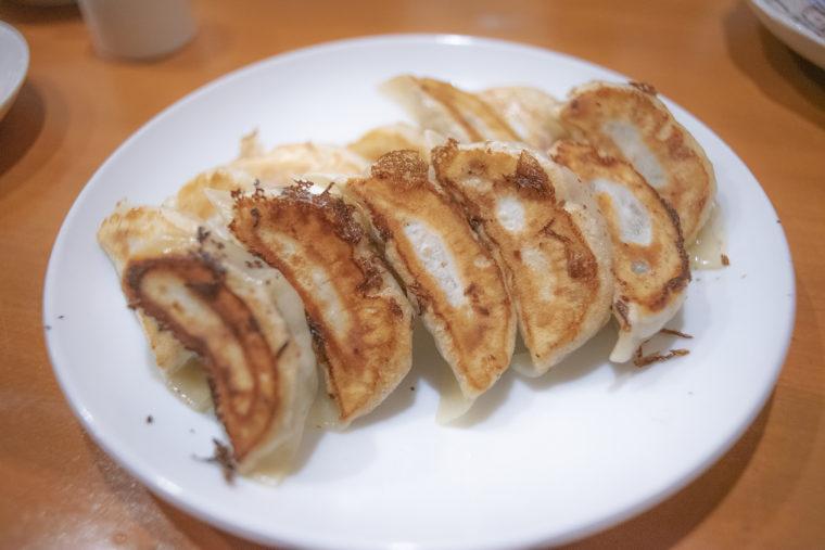 チャイナキッチン弘の焼き餃子
