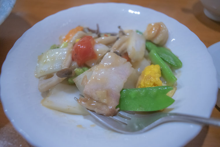 チャイナキッチン弘の八宝菜