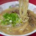 徳島県「めん八」で中華そばと餃子、焼きめし