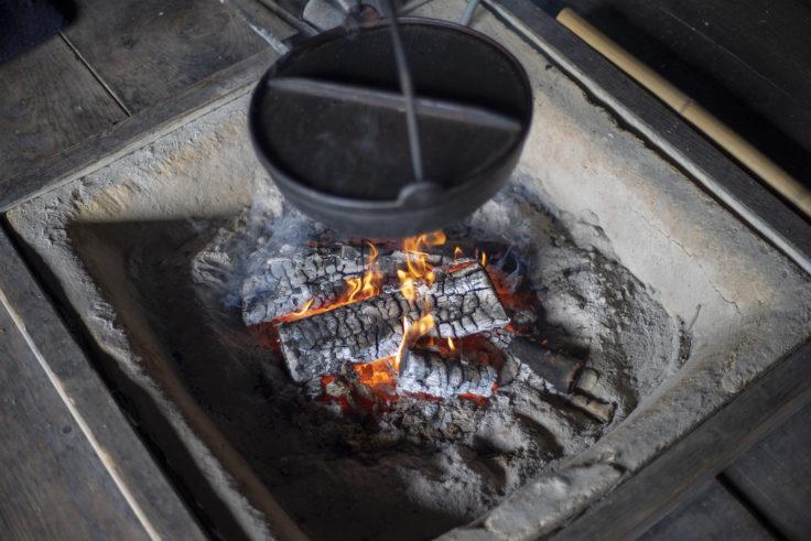 四国村囲炉裏