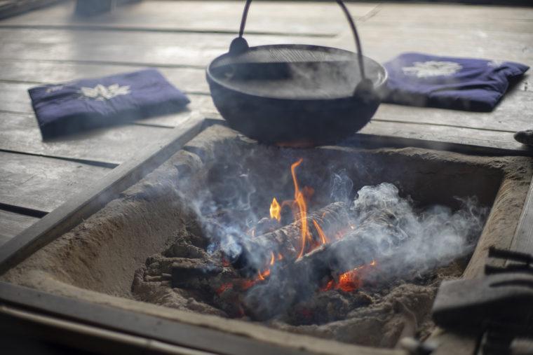 四国村の囲炉裏2