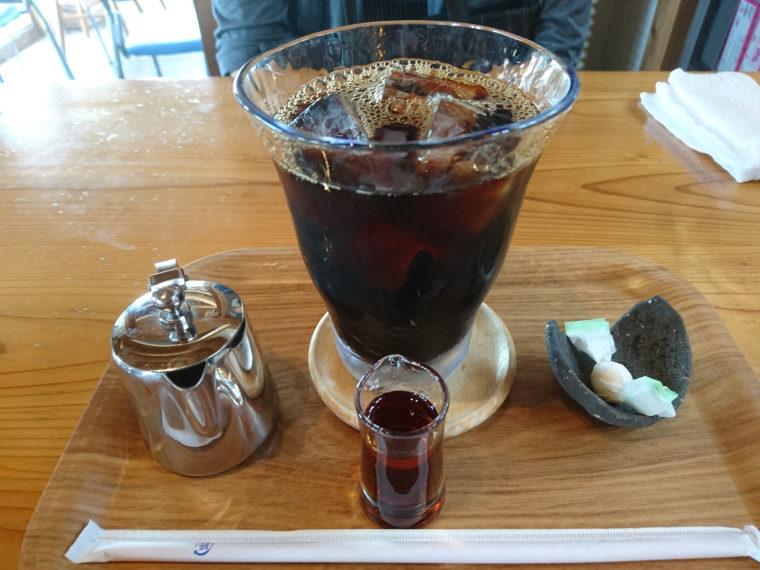 風待ちの丘ルンのアイスコーヒー