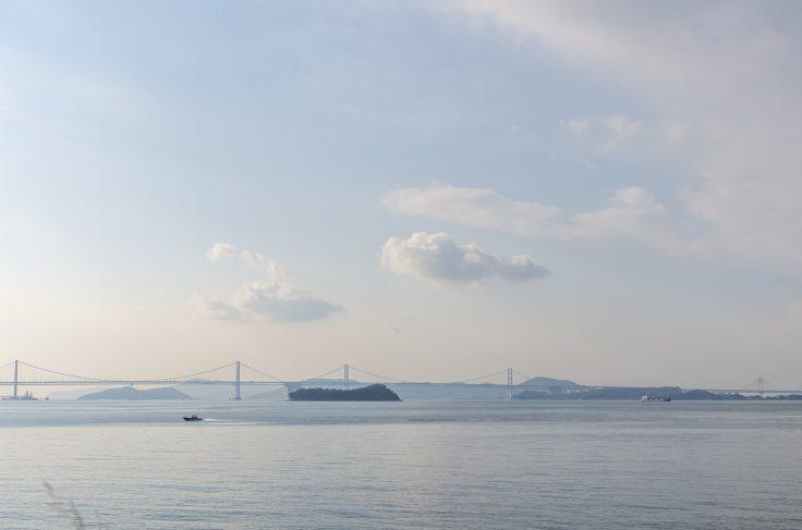 王越から見た瀬戸大橋