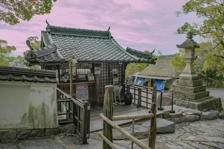 四国村の浜田の泊屋