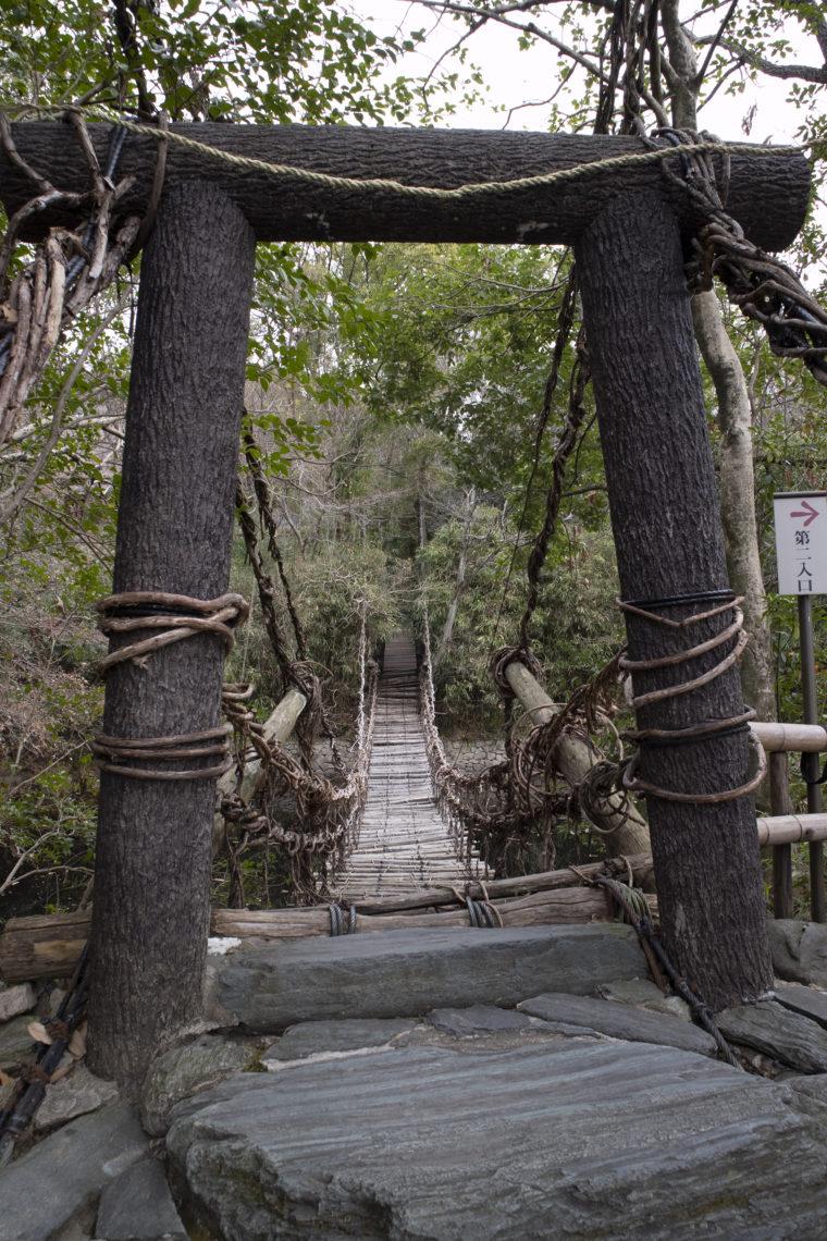 四国村の祖谷のかずら橋