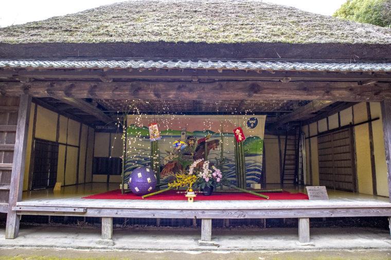 四国村小豆島農村歌舞伎舞台