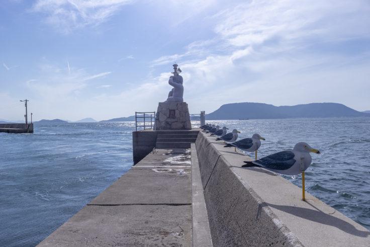 女木島のおにの灯台