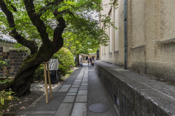 大原美術館通路