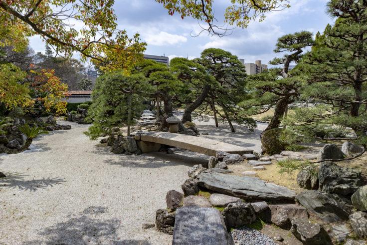旧徳島城表御殿の橋