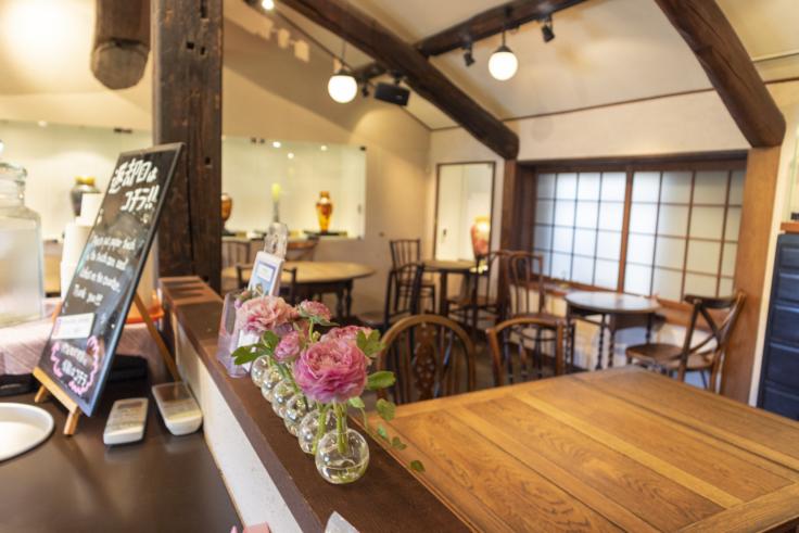くらしき桃子総本店2階カフェ