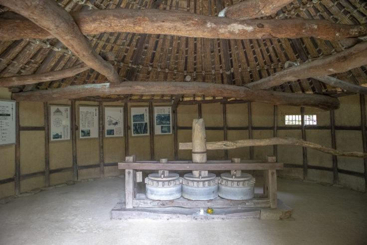 砂糖〆小屋2内部