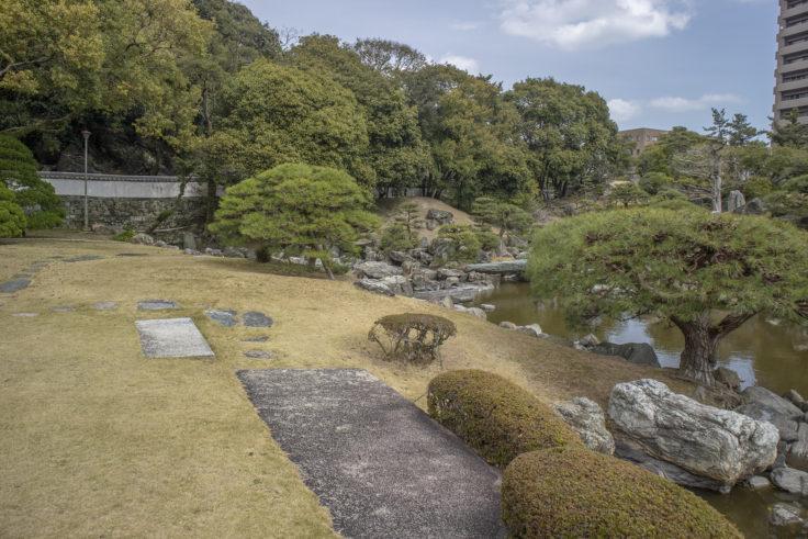 旧徳島城表御殿全景