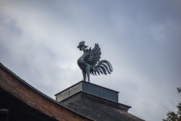 慈照寺の鳳凰