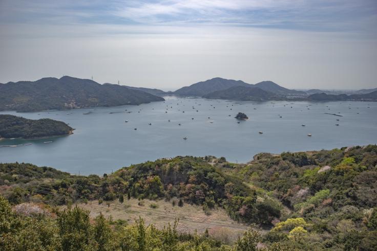 四方見展望台からの景色