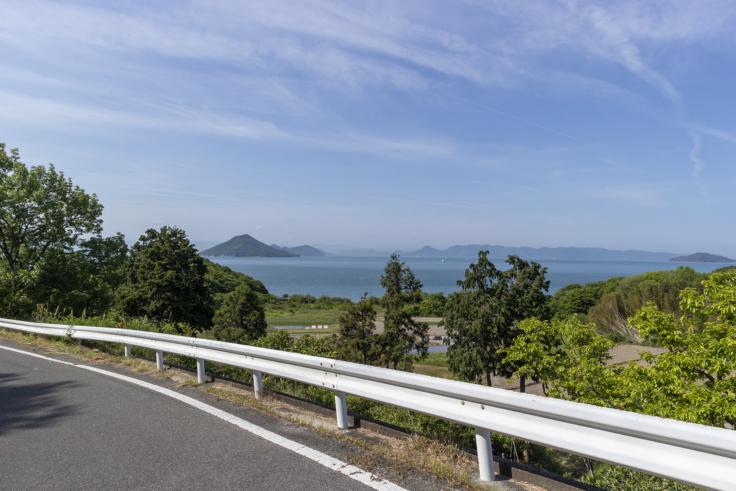 豊島から見た瀬戸内の景色2