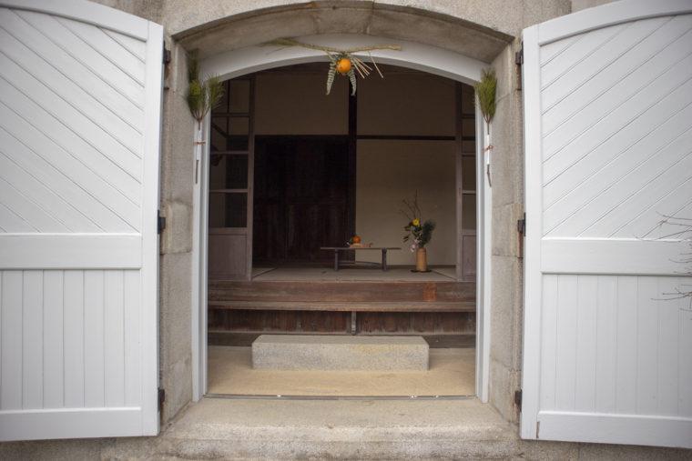 旧クダコ燈台退息所入り口