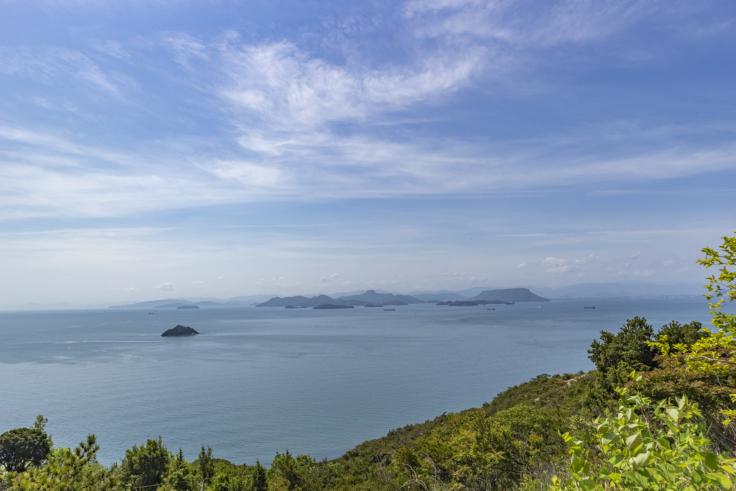 豊島から見た瀬戸内の景色4