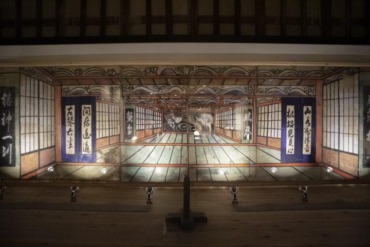 I旧丸亀藩御用蔵農村歌舞伎展示2