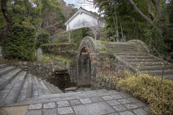 四国村アーチ橋