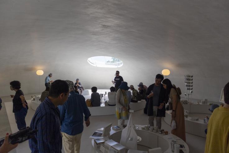 豊島美術館ショップ