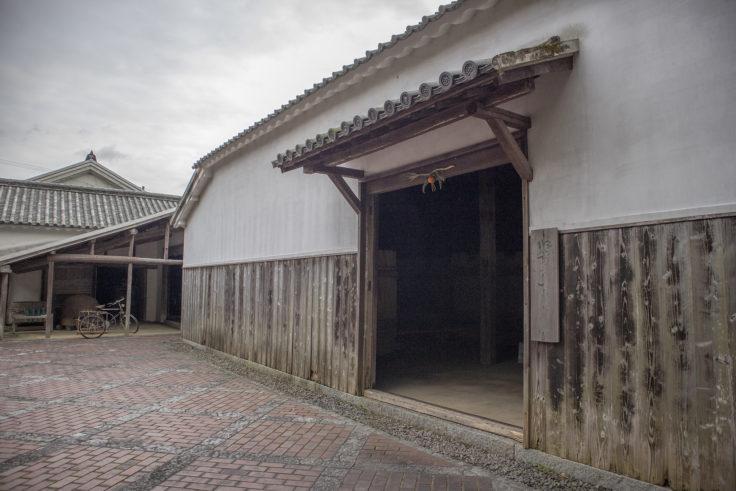 四国村の醤油蔵・麹室