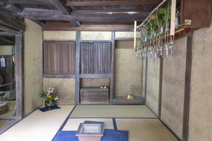 旧吉野家住宅(漁師の家)内部