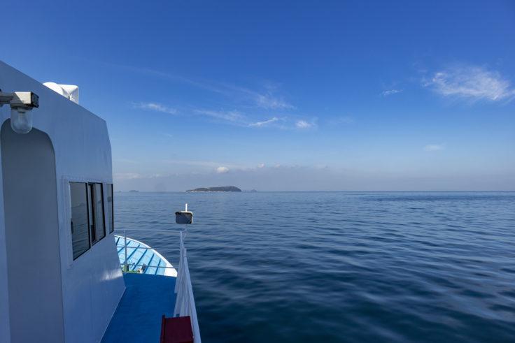 ニューいぶきから見た伊吹島