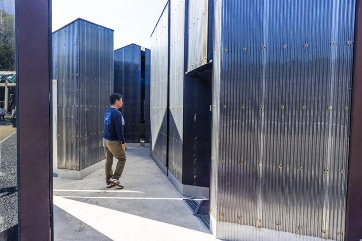 伊吹島「トイレの家」内部