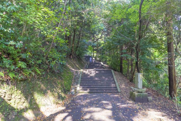 奥社への階段3