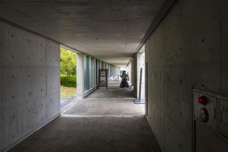淡路夢舞台の廊下
