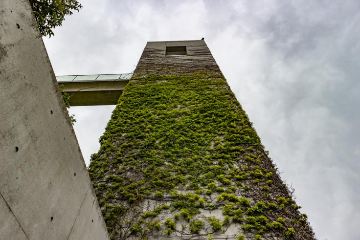 百段苑のエレベーター